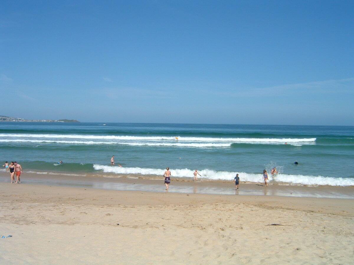 cornwall summer beach