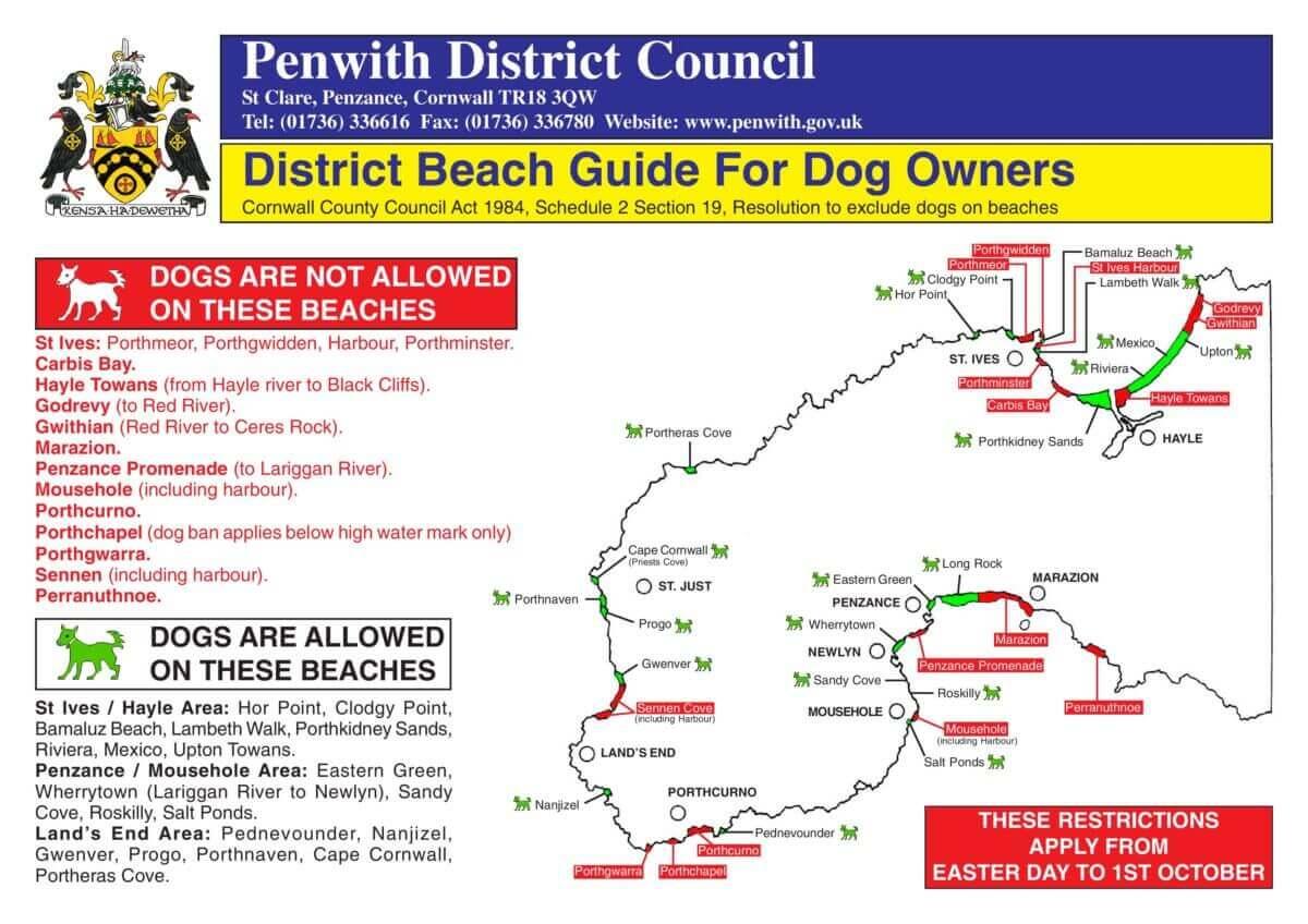 Cornwall Beaches Dog Guide