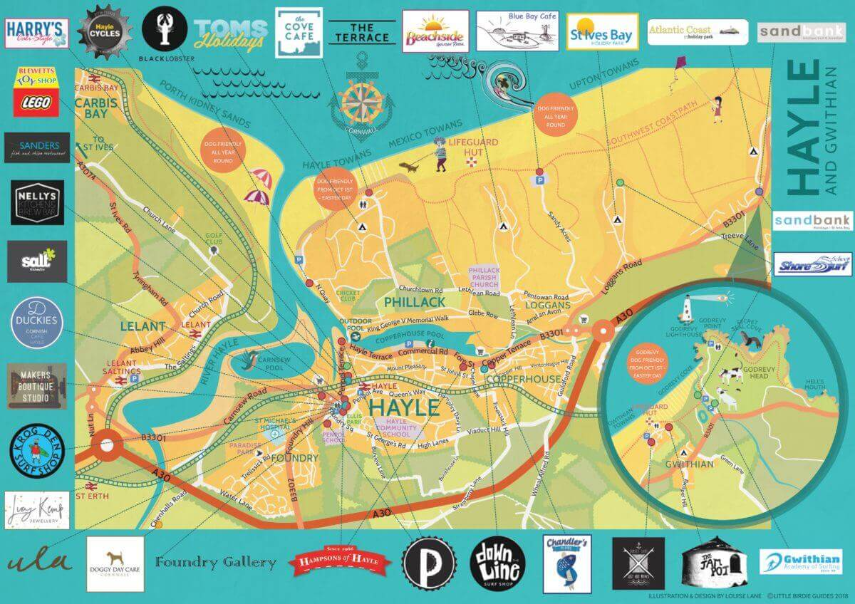 Hayle Map